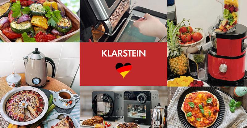 Klarstein thương hiệu đồ gia dụng đến từ CHLB Đức