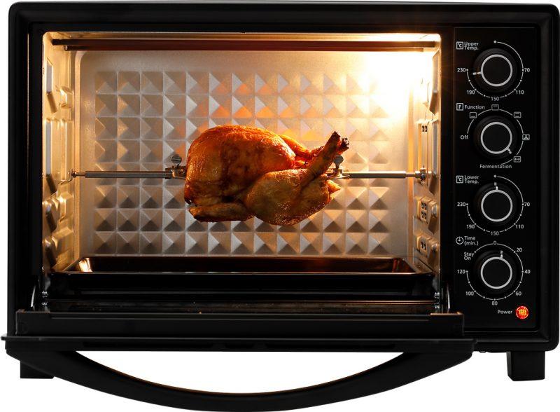 Lò nướng Panasonic nấu nướng rất tiện dụng.