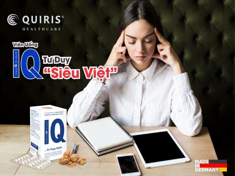 FOKUS IQ giúp tăng cường trí nhớ vượt trội.