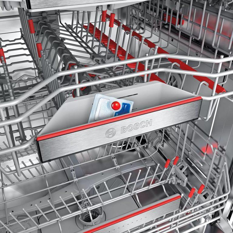 Chọn đúng chất tẩy rửa sẽ giúp máy rửa bát Bosch hoạt động trơn tru.