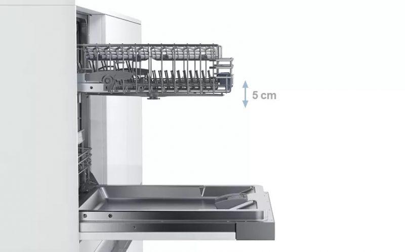 Máy rửa bát Bosch được ưa chuộng vì khả năng boạt động bền bỉ.