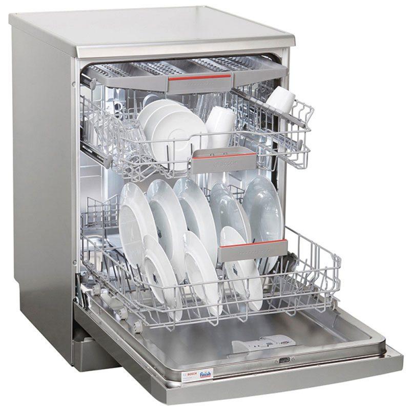 Công nghệ trên máy rửa bát Bosch giúp bát đĩa luôn sạch bong sáng bóng.