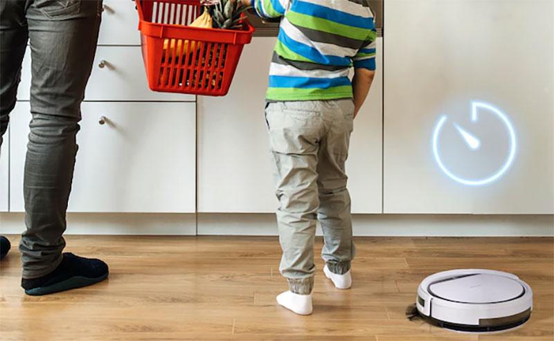 Robot hút bụi đã trở thành trợ thủ đắc lực cho gia đình bạn.