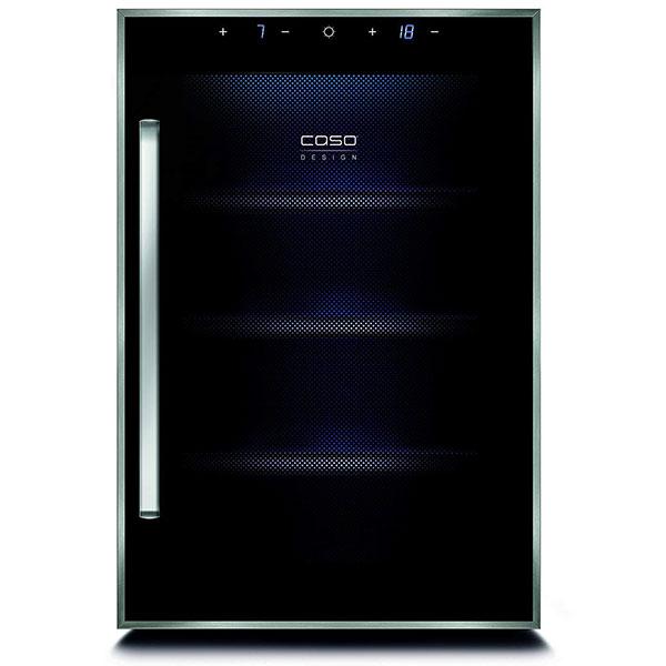 Tủ đựng rượu vang Caso WineDuett Touch 12 Chai có thiết kế làm mát và giữ hương vị cho tối đa 12 chai rượu vang.