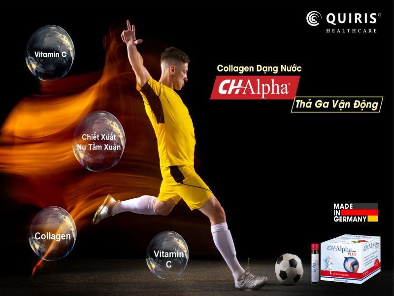 Quiris CH-Alpha Plus giúp tăng cường vận động,cải thiện sinh lực phái mạnh.