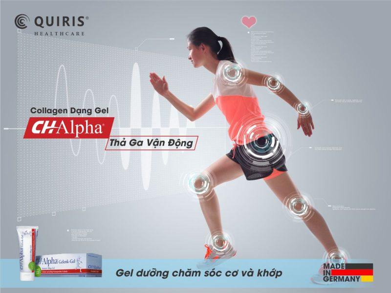 Sản phẩm của Quiris Healthcare giúp tăng cường chức năng vận động.