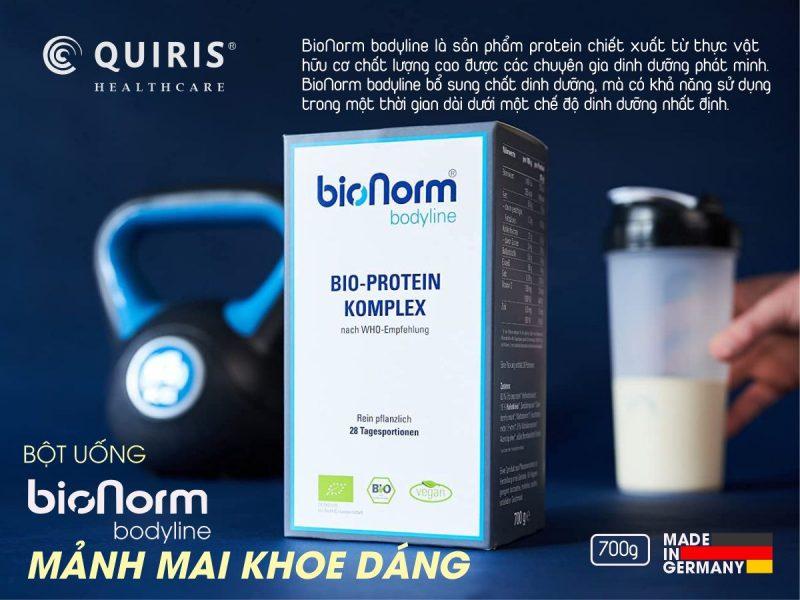 BioNorm ® bodyline cũng hỗ trợ tăng cơ giảm mỡ hiệu quả.