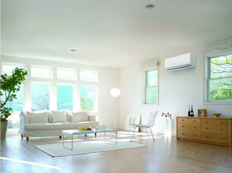 Điều hòa nhiệt độ giúp không gian sống của bạn trong lành hơn.