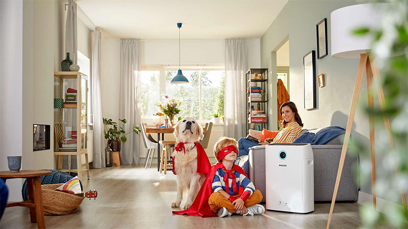 Máy lọc không giúp bảo vệ sức khỏe cho cả gia đình.