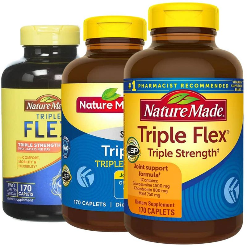 Viên uống Triple Flex Nature Made.