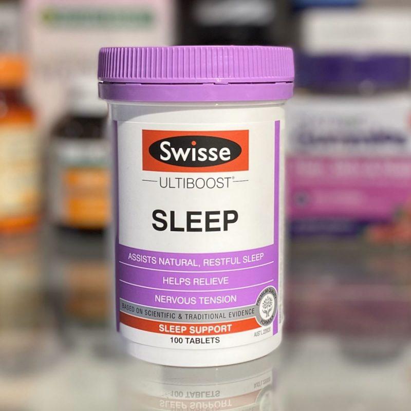 Viên uống giúp dễ ngủ Swisse Ultraboost Sleep Support