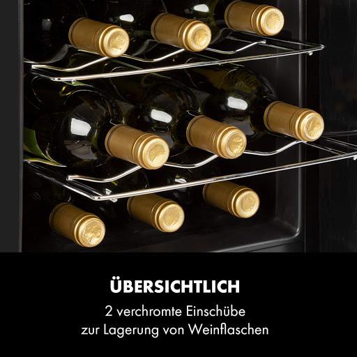 Tủ đựng rượu vang Klarstein El Dorado 48 lý tưởng để bố trí trong các quán bar hoặc câu lạc bộ