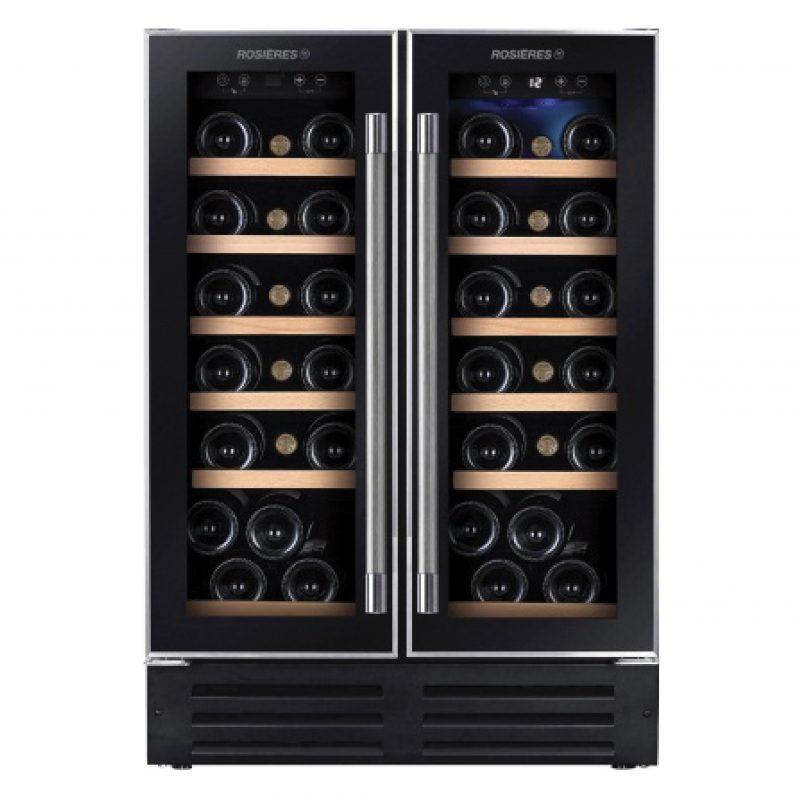 Tủ đựng rượu vang Rosieres RWCB60D có kích thước lớn.