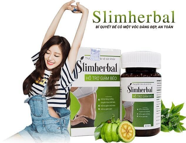 Viên uống hỗ trợ giảm cân SlimHerbal.