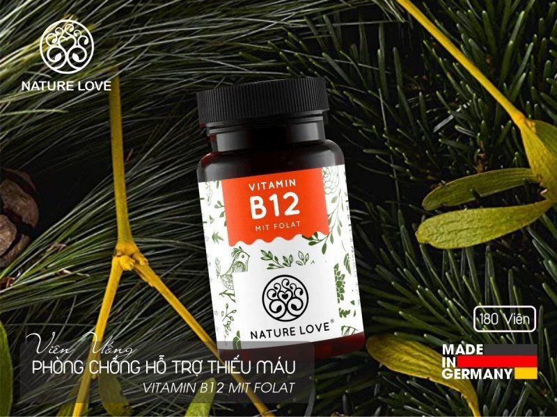 Nature Love VITAMIN B12 bổ sung vitamin tổng hợp phòng ngừa thiếu máu rất tốt.