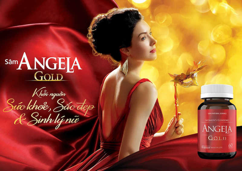Sâm Angela Gold bổ sung nội tiết tố nữ