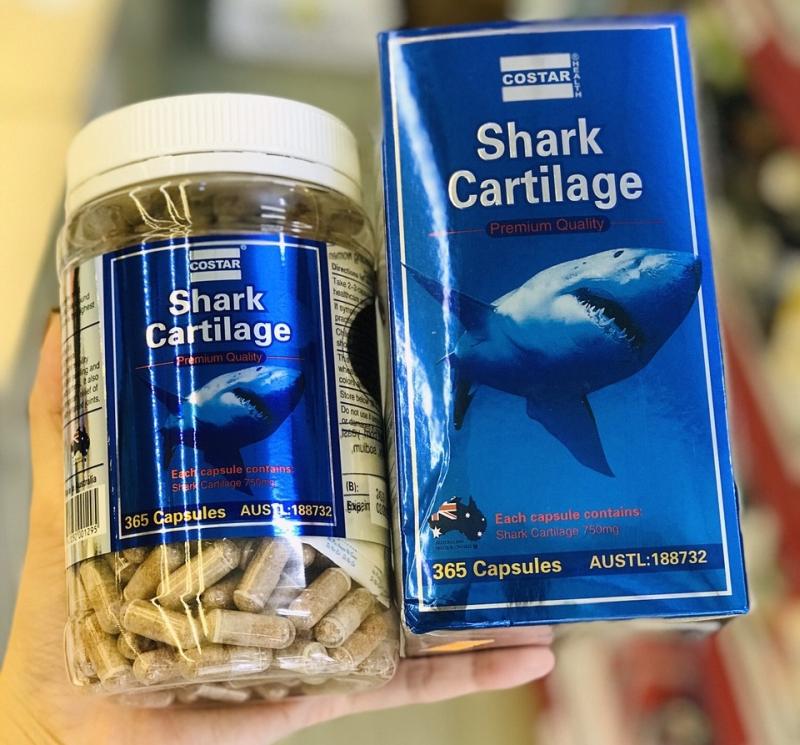 Viên uống sụn vi cá mập Costar Shark Cartilage