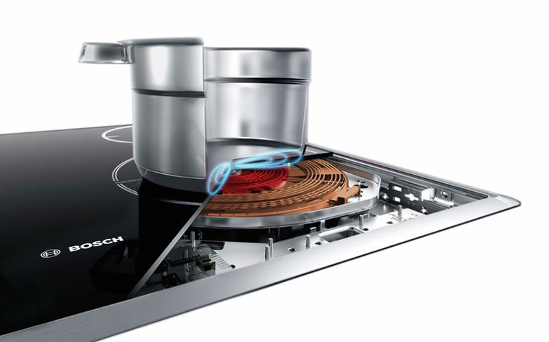 Bếp từ Bosch sở hữu nhiều công nghệ nấu nướng an toàn, tiện lợi