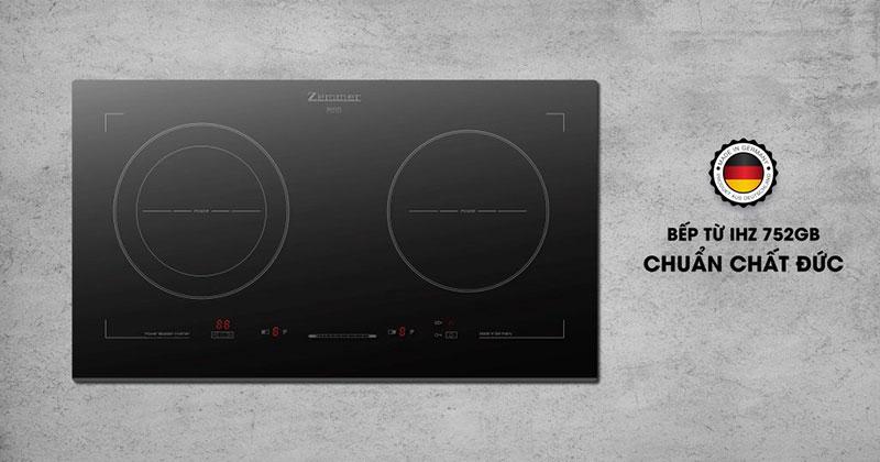 Bếp Từ Đôi Zemmer IH-Z752GB