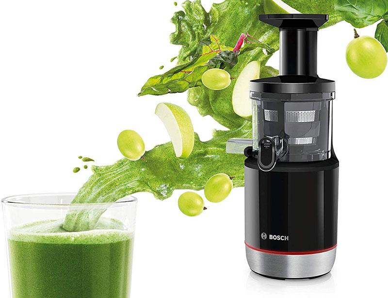 Sử dụng máy ép chậm Bosch giúp bạn có được nước ép trái cây ngon nhất cho bé yêu