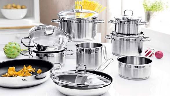 Sở hữu bộ nồi chảo giúp bạn nấu nướng nhanh chóng tiện dụng hơn