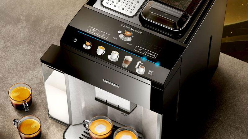 Máy Pha Cà Phê Tự Động Siemens TQ507DF3 cho những ly cà phê thơm ngon nhất