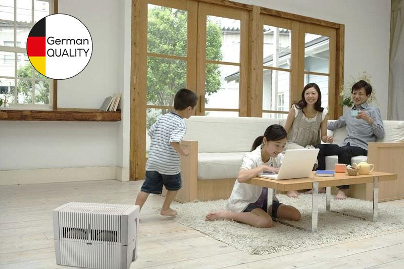 Máy lọc không khí Venta mang không gian trong lành đến gia đình bạn