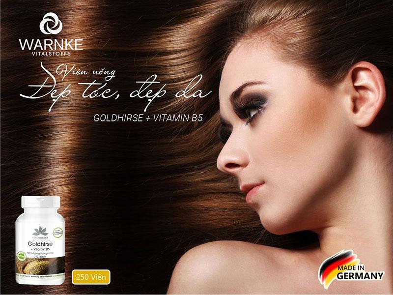 Thực phẩm chức năng Warnke Goldhirse Vitamin B5 bảo vệ da