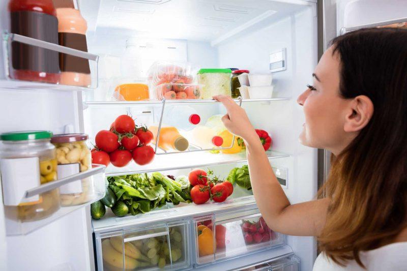 Thức ăn trong tủ lạnh nên được bảo quản ở nhiệt độ hợp lý