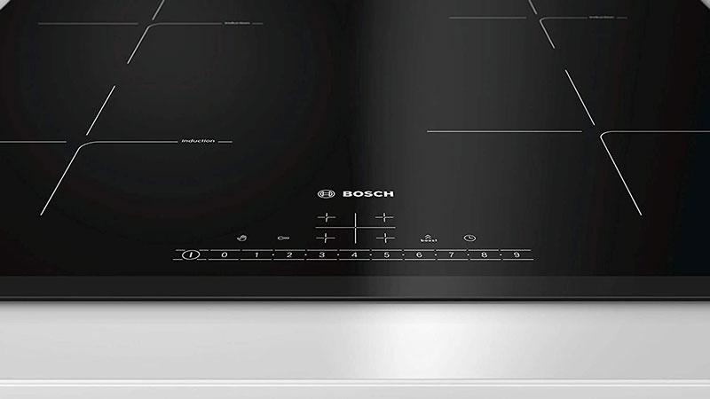 Bếp Từ Bosch PIE631FB1E 4 Vùng Nấu có bảng điều khiển trực quan, dễ sử dụng