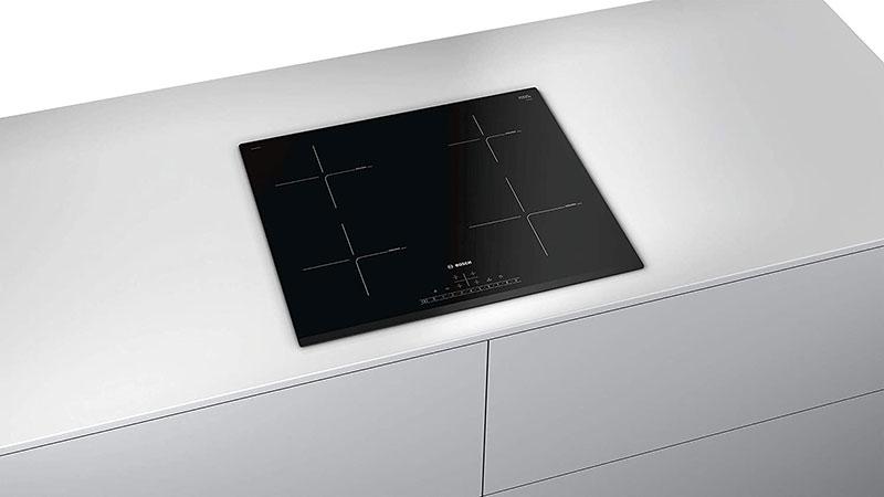 Bếp Từ Bosch PIE631FB1E 4 Vùng Nấu có kiểu dáng sang trọng, hiện đại