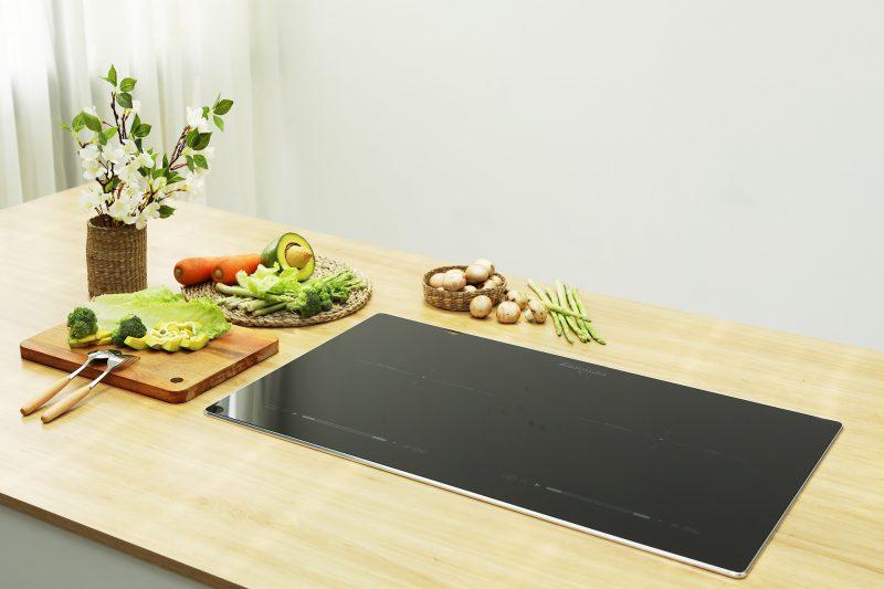 Bếp Từ Đôi Zemmer có kiểu dáng sang trọng, hiện đại