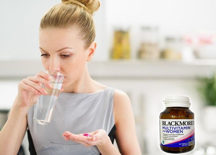 Blackmores Multivitamin For Women bảo vệ da