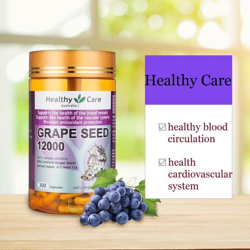 Thực phẩm chức năng Healthy Care Grape Seed