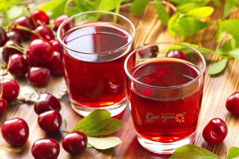 Nước ép cherry