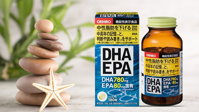 Viên uống bổ não DHA Orihiro