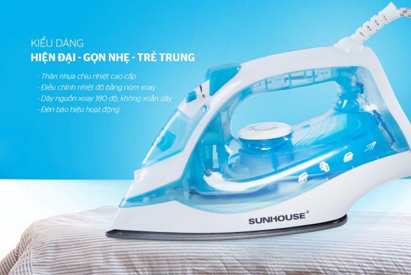 Bàn là hơi nước Sunhouse SHD2065