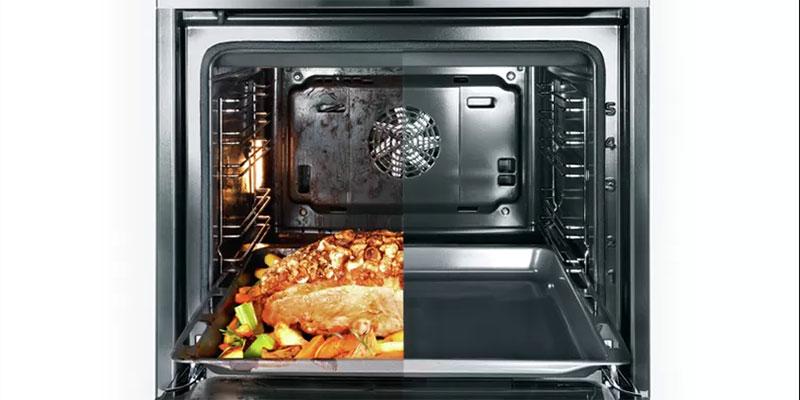 Lò nướng Bosch rất tiện dụng và dễ dàng vệ sinh