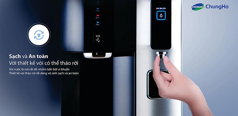 Máy lọc nước ChungHo sạch và an toàn cho cả gia đình
