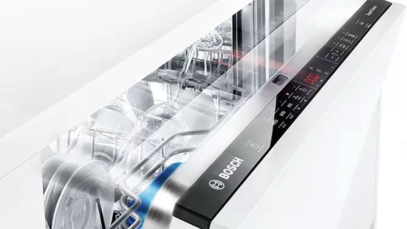 Máy rửa bát Bosch có thiết kế sang trọng, hiện đại