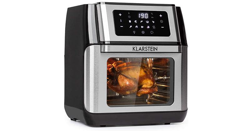 Nồi chiên không dầu Klarstein với dung tích nấu lớn đủ cho cả gia đình