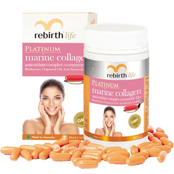 Viên Uống Chống Lão Hoá Collagen Rebirth