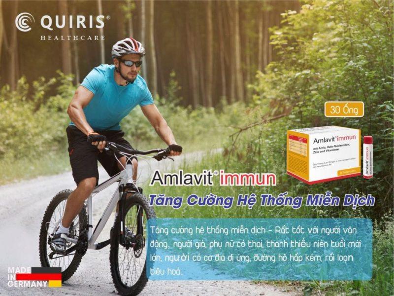 Quiris Amlavit Immun tăng cường miễn dịch cho cơ thể