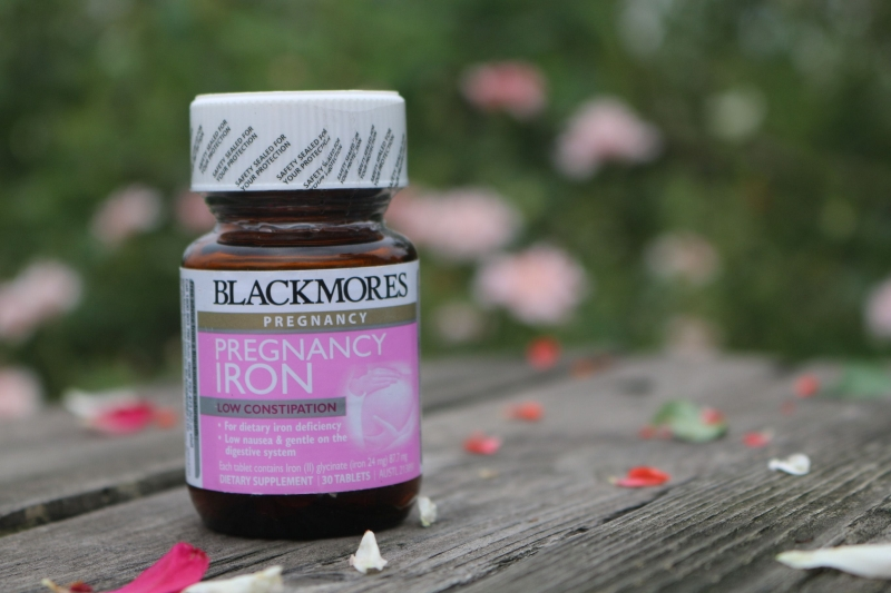 Blackmores Iron cho phụ nữ mang thai