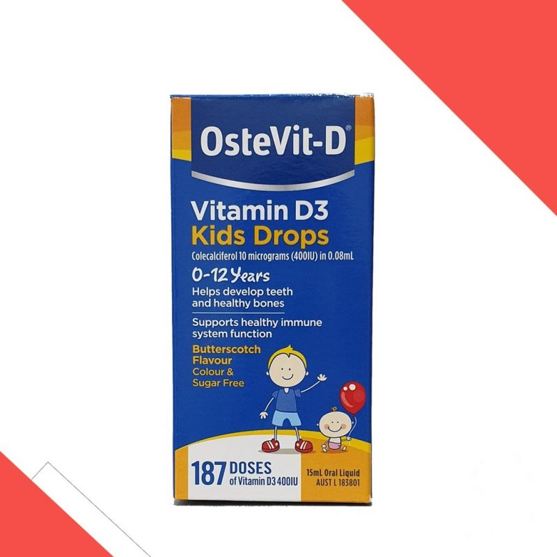 Vitamin D3 Ostevit giúp trẻ tăng chiều cao