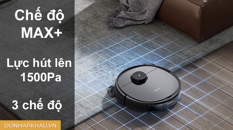 Robot hút bụi lau nhà cho hiệu quả làm sạch vượt trội