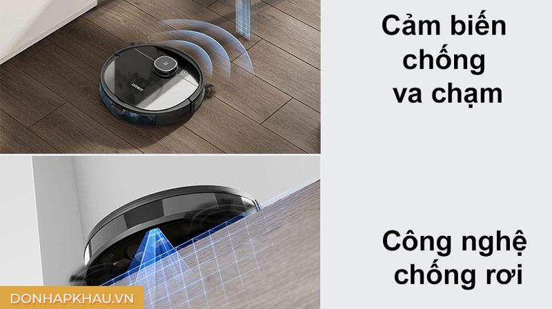 Robot hút bụi lau nhà được tích hợp nhiều tính năng nâng cao nổi bật