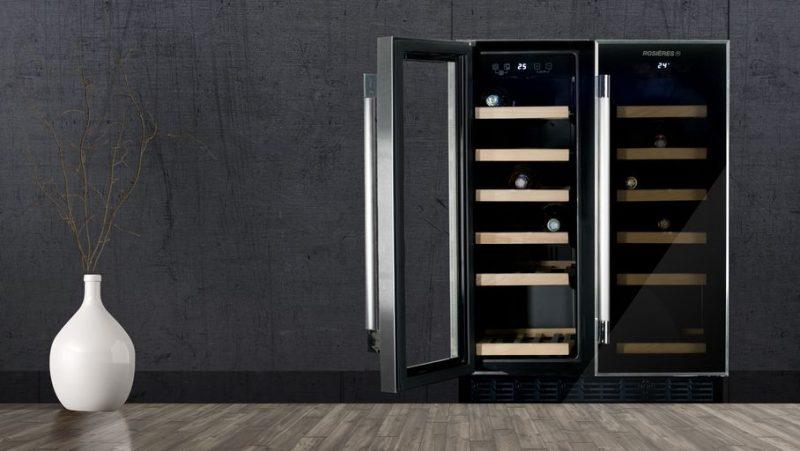 Tủ bảo quản rượu vang giữ cho những chai rượu vang luôn thơm ngon