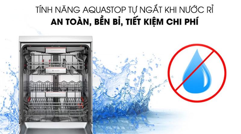 Máy rửa bát Bosch tiện dụng, an toàn cho người sử dụng