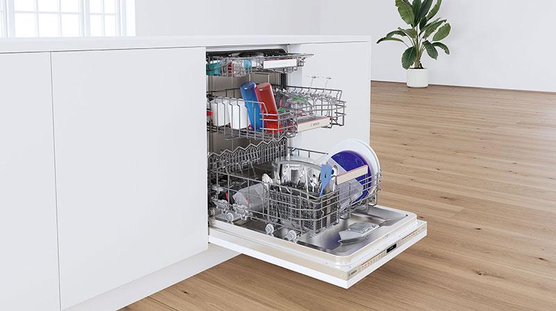 Máy rửa bát Bosch nhỏ gọn, tiện dụng phù hợp với mọi không gian bếp